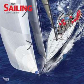 Sailing - Segeln 2020 - 18-Monatskalender (Browntrout Wandkalender)