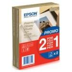 Premium Glossy Photo Paper BOGOF 10 x 15 Epson 2 x 40 Sheets c13s042167