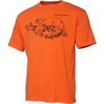 Tricou Savage Gear Cannibal Ink, portocaliu (Marime: L)