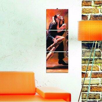 Tablou decorativ multicanvas Allure 3 Piese, 221ALL1935, Multicolor
