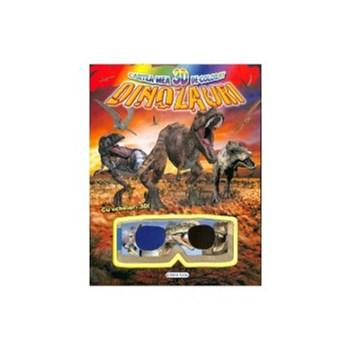 Cartea mea 3D de colorat: Dinozauri