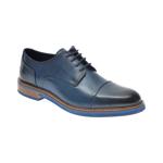 Pantofi OTTER bleumarin, 7843, din piele naturala