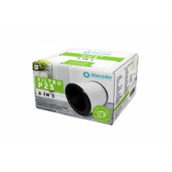 Filtru 3 in 1 P25 cu Pre-Filtru, Filtru HEPA si Filtru Carbon Activ, compatibil cu purificatorul Exempl'air