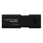 Stick USB 3.1 64 GB Kingston DataTraveler DT100G3/64GB - Black