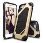 Husa Protectie Spate Ringke Armor Max Royal Gold pentru Apple iPhone 7 si folie protectie display