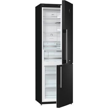 Combina frigorifica Gorenje Simplicity NRK62JSY2B, 306 l, Clasa A++, Negru