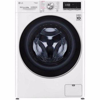 Masina de spalat rufe cu uscator LG F4DV709H1, Spalare 9 kg, Uscare 6 kg, 1400 RPM, Clasa A, AI Direct Drive, Turbo Wash, Steam+, Eco Hybrid, WiFi, Alb