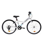 Bicicletă Polivalentă Original 100 24'' Copii 9-12 ani BTWIN