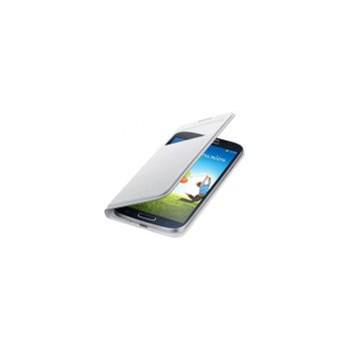 Husa S-View Samsung pentru Galaxy S4, Alb