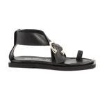 Sandale femei Enzo Bertini negre din piele 2659DS3101N