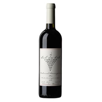 Vin rosu sec Bob cu bob, Cabernet sauvignon, 0.75L