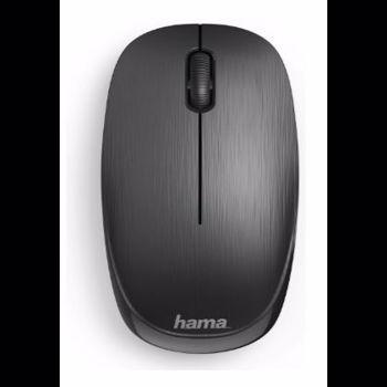 Mouse Wireless HAMA MW-100, 1000 dpi (Negru)