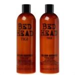 Set ingrijire par Bed Head Colour Goddess pentru par vopsit: Sampon, 750 ml + Balsam, 750 ml