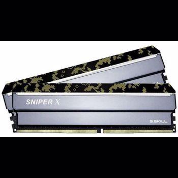 Memorie GSKill Sniper X Digital Camo 16GB DDR4 3200MHz CL16 1.35v Dual Channel Kit F4-3200C16D-16GSXKB