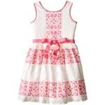 Us Angels Sleeveless Lace Dress w/ Cut Out Back & Skirt (Big Kids) Culoarea Lavender