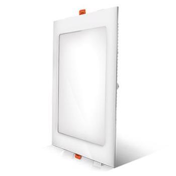 Panou LED 12W lumina alba 4200K, montaj incastrat ST, 17x17 cm