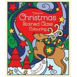 Christmas Stained Glass Colouring, Paperback - ***