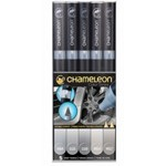 Set 5 Marker Chameleon Gray