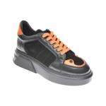 Pantofi FLAVIA PASSINI negri, 8701003, din piele naturala