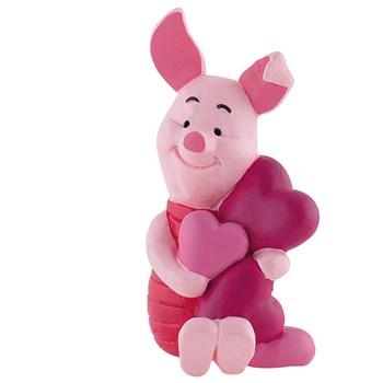 Figurina Piglet cu Inimioare