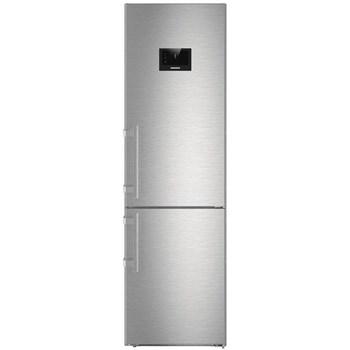 Combina frigorifica Liebherr Premium CBNPes 4858 Clasa A+++ Display touch 344 l NoFrost DuoCooling H 201 Argintiu cbnpes 4858