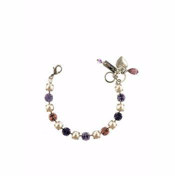 Bratara Roxannes - Mariana Jewellery Romance placata cu Aur roz de 24K MSD_B-4252-139-10RO