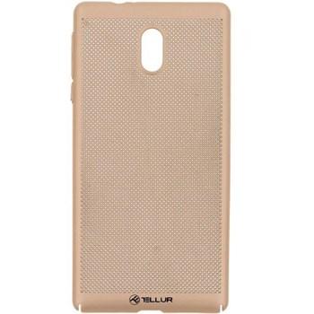 Husa Cover Tellur Heat Dissipation Nokia 3 Gold tll121513