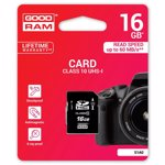 Card Goodram S1A0 SD 16GB Clasa 10 UHS-I