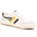 Teniși GOLA - Badminton CMA548 Off White/Black/Sun