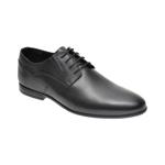 Pantofi OTTER negri, K31, din piele naturala