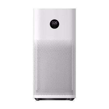 Purificator de aer Xiaomi Mi Air Purifier 3H, Smart Wi-Fi, CADR 380m3/h, senzor temperatura si umiditate, senzor PM2.5, Alb