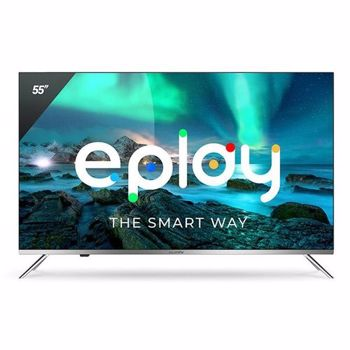 Televizor Allview 55ePlay6100-U, 139 cm, Smart Android, 4k Ultra HD, LED, Clasa A