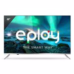 Televizor Smart LED, Allview 55ePlay6100-U, 140 cm, Ultra HD 4K, Android