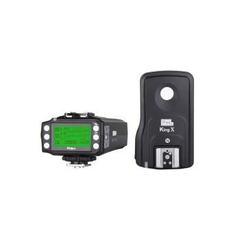 Pixel King Pro Full Set - transceiver + receptor TTL pt Nikon
