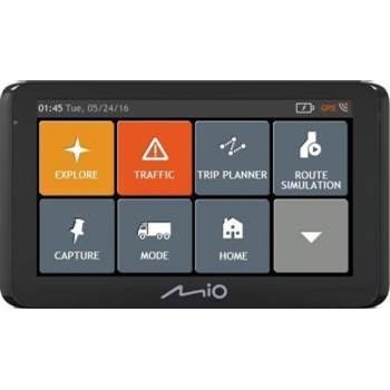 "Sistem de navigatie Mio Spirit 8670 LM Truck, diagonala 6.2"", Bluetooth, Full Europe + actualizari gratuite pe viata"