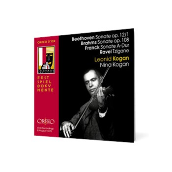 Leonid und Nina Kogan Beethoven • Brahms • Franck • Ravel