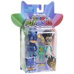 Set figurine cu lumini Eroi in pijama: Pisoi si Romeo W2