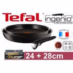 Set tigai Tefal L6719312 Ingenio Authentic, 3 piese