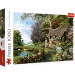 Puzzle 1000 piese - Charming nook
