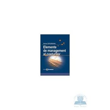 Elemente De Management Al Costurilor - Sorinel Capusneanu 973-709-384-4