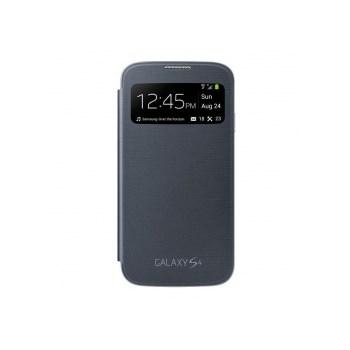 Samsung S-View Cover negru pentru Galaxy S4 i9500/i9505