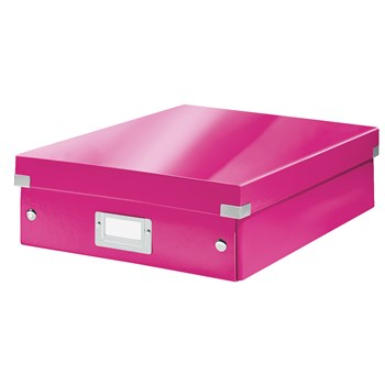 Cutie, medie, roz, LEITZ Click & Store Organizer