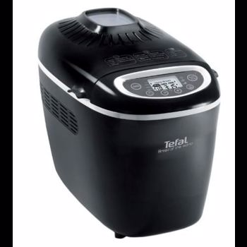 Masina de paine Tefal Bread of the World PF6118, 1650 W, 1500 g, 19 programe, Negru