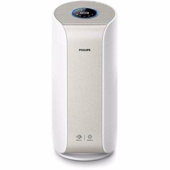 Purificator de aer AC3055/50, Tehnologie AeraSense, Tehnologie VitaShield, Feedback real privind calitatea aerului, Conectivitate Bluetooth, 3 moduri automate, afisaj digital, Senzor PM2,5, Alb
