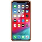 Husa Apple Leather Case Saddle Brown pentru iPhone XS mrwp2zm/a
