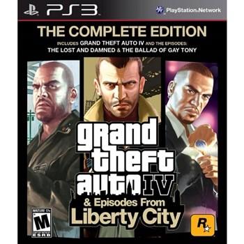 Joc consola Rockstar Grand Theft Auto IV Complete Edition PS3