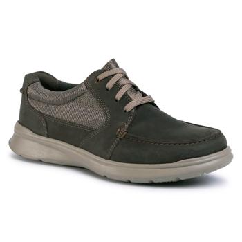 Pantofi CLARKS - Cotrell Lane 261486527 Olive Combination