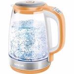 Fierbator apa din sticla Sencor SWK 2193OR, 2L, portocaliu