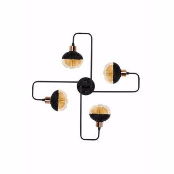 Candelabru Alby Ani - N-372, negru