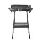 Gratar electric cu grill barbeque 46 x 28 cm 2000 W VE-BBQE111BK